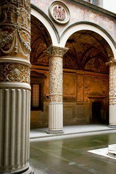 Inside Palazzo Vecchio ~ Florence ~ Province of Florence , Tuscany region Italy