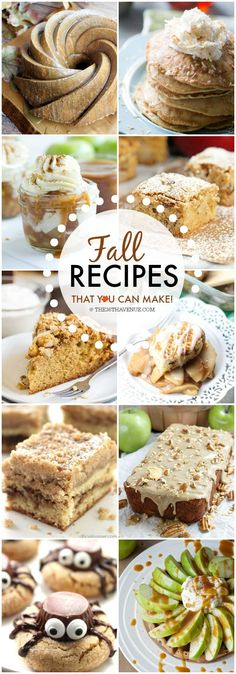 Recipes- The Best Fall Recipes over at the36thavenue.com Oh my goodness, you have to see them all!