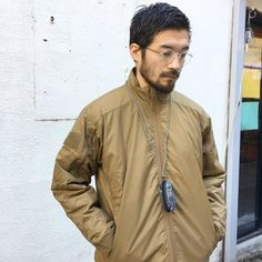 Japan Fashion, Men's Fashion, Beard Styles, Hair Styles, Mens Hair, Male Face, Cool Style, Bomber Jacket, Handsome