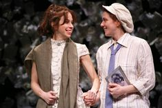 Emily Young and Jessie Austrian in Theatre for a New Audience's production of Fiasco Theater's THE TWO GENTLEMEN OF VERONA — at Polonsky Shakespeare Center.