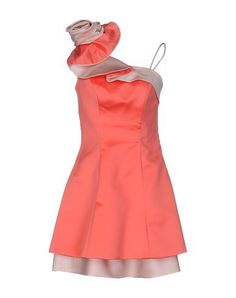 JOLIE CARLO PIGNATELLI Women's Short dress Coral 12 US