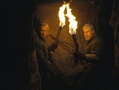 Nicolas Cage and Ron Perlman in Season of the Witch Season Of The Witch, Nicolas Cage, Seasons, Ron Perlman, Awesome, Painting, Witches, Den, Historia