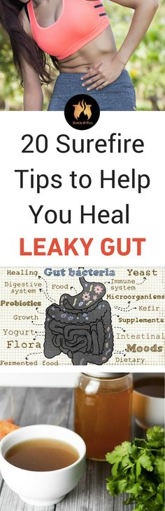 This is one of the best resources you'll find on how to heal a leaky gut - from diet to supplements you should be incorporating, this guide covers it all!
