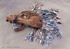 Pebble art from Hungary by tamas kanya #pebble art#kavicsművész#kavicsképek#kavicsművészet