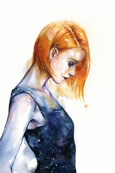 heliotropic girl by agnes-cecile on DeviantArt