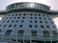 Awesome photo by Pete Hilton of the Anthem of the Seas docked in Southampton.