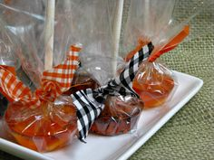 Homemade Lollipops with Flavored Sparking Water - #ClearAmerican #halloween