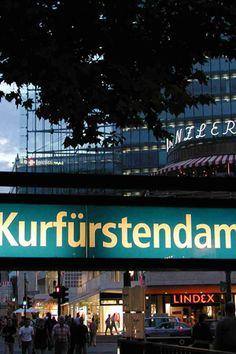 The famous Berlin shopping street: Kurfürstendamm. #berlin #shopping #sightseeing