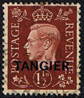 Morocco Agencies TANGIER 1940 SG 247 King George VI Fine Used SG 247 Scott 517 Condition Fine Used Only one post charge applied on multipule