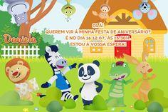 Convite digital personalizado Canal Panda 007