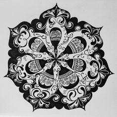 Mandala Designs, smritimehta: Another piece I finished last week....