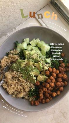Healthy Meal Prep, Healthy Snacks, Healthy Eating, Vegan Meal Plans, Vegetarian Recipes, Cooking Recipes, Healthy Recipes, Vegetarian Dinners, Plats Healthy