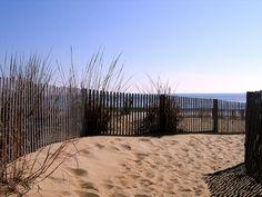 Sandy walkway Ocean City, Maryland