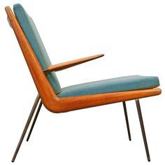 "FD 134 ""Boomerang chair"" by Peter Hvidt & Orla Mølgaard Nielsen ca1956"