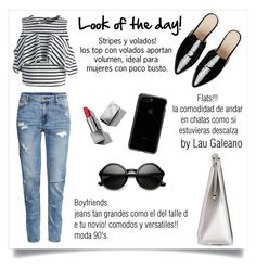 """look of the day!"" by lauvgaleano on Polyvore featuring Chicwish, Nina, ASOS, H&M, Burberry and ZeroUV"