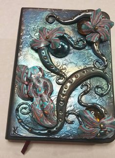 Polymer Clay OOAK Arizona Turquoise Pocket by WyndsongDesigns