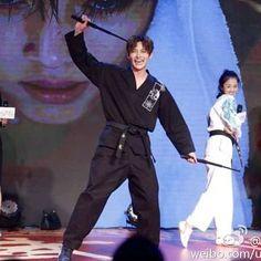 "2016.07.14 Ji Chang Wook press conference for Drama Tornado ""Whirlwind Girl 2"" . #jichangwook #지창욱 #池昌旭 #チチャンウク #JCW #EmpressKi #Healer #Mr_Right #旋風少女2 ."