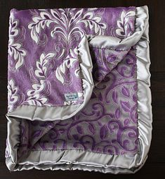 Hey, I found this really awesome Etsy listing at https://www.etsy.com/ca/listing/218960744/minky-blanket-soft-blanket-purple
