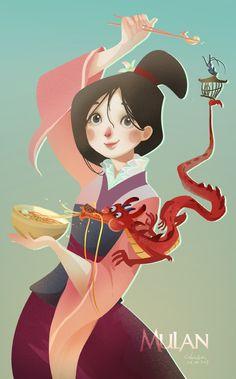Mulan by r-pre