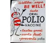 Remember the long line I stood in at school to get my polio vaccine.