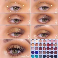 Natural Smokey Eye Makeup Make You Brilliant eye makeup tutorial; eye makeup for brown eyes; eye makeup for brown eyes; Eye Makeup Steps, Makeup Eye Looks, Blue Eye Makeup, Smokey Eye Makeup, Makeup For Brown Eyes, Skin Makeup, Eyeshadow Makeup, Makeup Tips, Beauty Makeup
