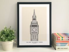 Big Ben Elizabeth Tower Houses of Parliament by thisismikehall