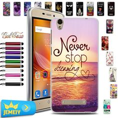 UV Print Soft TPU Gel Case For ZTE Blade X3 5''X 5 X7 X9 phone Case Back Cover For ZTE Blade AF3 A610 A510…