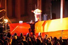 Symbiose (2009) - Koreografi Julia Planterhaug - Dansere Julia Planterhaug & Kristine Mari Hansen - Vinterfestuka i Narvik - Foto Jan Erik Teigen