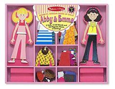 Melissa & Doug Abby & Emma Deluxe Magnetic Dress-Up Set M... https://www.amazon.com/dp/B0012GV1HM/ref=cm_sw_r_pi_dp_x_EPKgyb94TNWV3