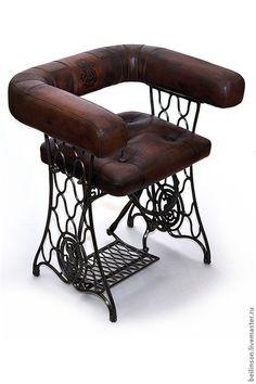 Кресло Zinger - из швейной машинки / Мебель / ВТОРАЯ УЛИЦА