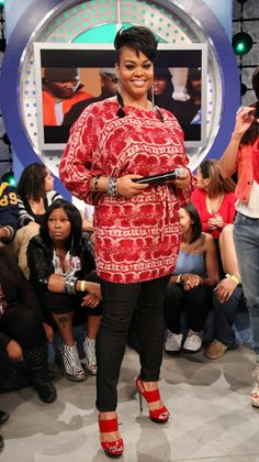 "images of jill scott | Jill Scott stopped by BET's ""106 & Park"" to kick it with ..."