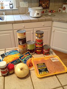 """Crockpot Chicken Taco Chili! """"Our little world: This chili is AMAZING!"""""""
