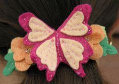 Butterfly Barrette Free Jewelry Pattern