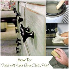 Are you tyring chalk paint for the first time?  Don't miss these Tips and Tutorials for Painting Furniture with Chalk Paint at Mrs. Hines' Class