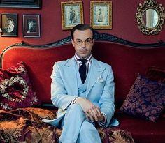 Un ribelle in completo. I am dandy:  The Return of The Elegant Gentleman.