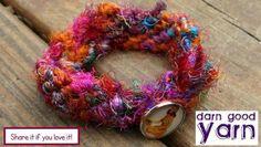 Grown-Up Twist on a Friendship Bracelet Free Pattern - Digital Download