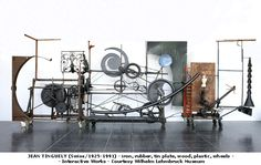 jean tinguely sculptures - Google Search