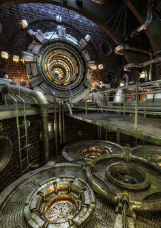 Sci-Fi Factory by Gökhan Güler | Sci-Fi | 3D | CGSociety