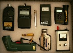 Ghost Hunting Equipment.                                                                                                                                                                                 More