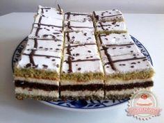 Sütés nélküli puncskocka Tiramisu, Waffles, Food And Drink, Orange, Breakfast, Cake, Ethnic Recipes, Morning Coffee, Kuchen