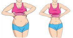 Värt att pröva: Endast två övningar och två koppar av det här per dag för en helt platt mage!