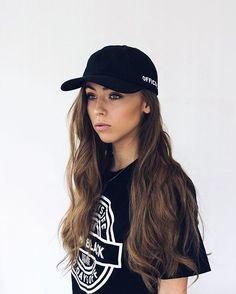 Lisa Tellbe wearing the Nocay tee by New Black.
