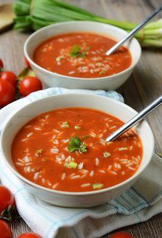 Polish Recipes, Polish Food, Food And Drink, Tasty, Cooking, Ethnic Recipes, Impreza, Home Decor, Light Soups