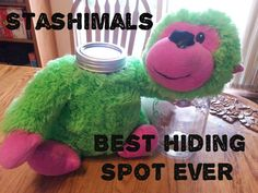 turn a stuffed animal in to a great hiding spot for your valuables on Instructables