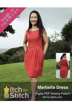 Marbella Dress by Itch to Stitch Pattern Preview 1   Indiesew.com