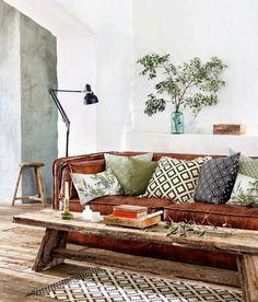 Sofa con aire vintage