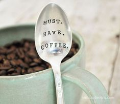 Must. Have. Coffee. Add a cute coffee mug and a bag of their favorite coffee for…