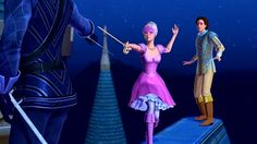 """Barbie and the Three Musketeers """"You will never be King!"""""""