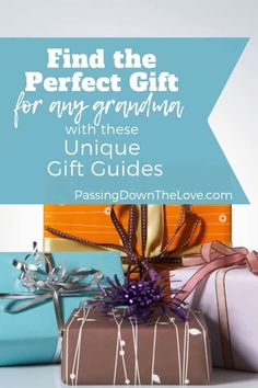 Looking for gift ideas for your Grandma? Don't know what to get your Grandma for Christmas? These unique gift guides are sure to help! Birthday Presents For Grandma, Christmas Gifts For Grandma, 80th Birthday Gifts, Christmas Gift Guide, Christmas Gifts For Women, Birthday Ideas, Birthday Nails, Grandmother Gifts, Grandmothers