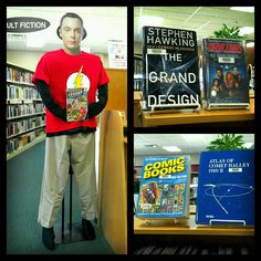 We now have Seasons 1 & 2 of The Big Bang Theory on DVD, along with many books that Sheldon would approve of. by milfordlibrary51351, via Flickr